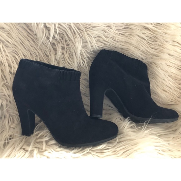 Sam & Libby Shoes - Black Heel Booties